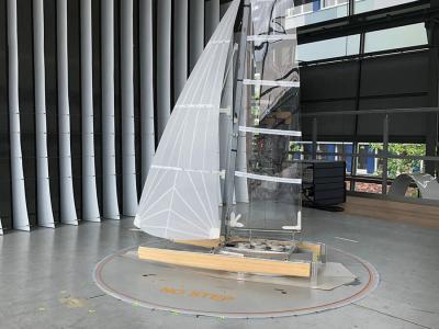 Segel aus dem Windkanal - Beitragsbild